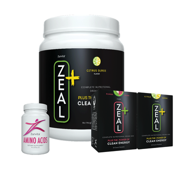 Zeal+, Zurvita Amino Acids and ZBlends samples