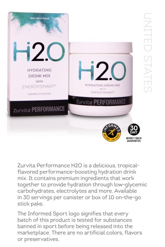 Zurvita Performance H2O